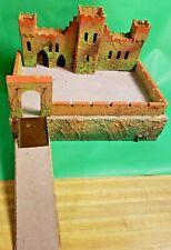 Vintage Elastolin Castle with Drawbridge - Germany 1960's - **RARE Opportunity**