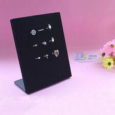 Jewelry Ring Display Tray Pad Box 50 Slots Black Velvet Insert Holder Case Gift