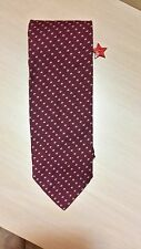 TOWNCRAFT RED BLUE MICRO DOT DESIGNER MENS NECKTIE FREE SHIPPING