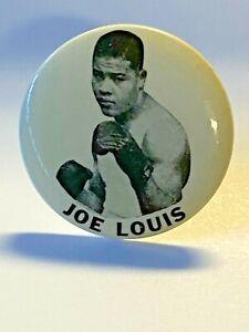Vintage Joe Louis Boxing Pin; 1930's to 1940's; Original Photo Pin; Lot 2