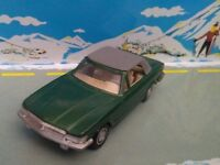 LUSO TOYS 1/43 PORTUGAR MERCEDES BENZ 450 SLC GREEN METALLIC SUPERBE