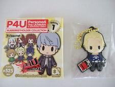 Kanji Tatsumi D4 Rubber Strap Key Chain Persona 4 Arena P4 Ultimate in Mayonaka