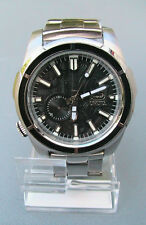 """NEW MARC ECKO MEN'S """"The Ultimate"""" SILVER STAINLESS WATCH E15033G1"""