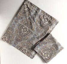 Lauren Ralph Lauren Blue-gray Paisley King Size Pillow Sham Set Of 2