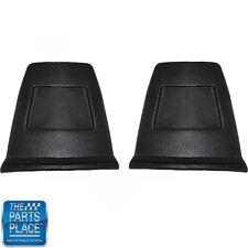 71-77 Chevrolet Camaro /  Firebird /Trans Am Bucket Seat Backs Black Standard Pr