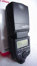 Canon Speedlite 580EX II Aufsteckblitz - HERVORRAGENDER ZUSTAND! WIE NEU!