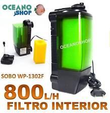 FILTRO INTERIOR de 800L/H 15W SOBO WP-1302F con Foamex igual que EHEIM ACUARIO