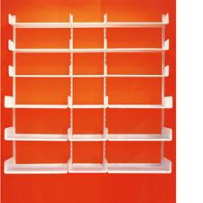 Libreria K1 KRIPTONITE in Alluminio, Bianco o Nero - Bookcase / Regal für Bücher