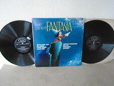 Walt Disney's FANTASIA all the original music , Stokowski VISTA BVS101 STEREO LP