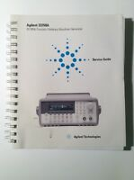 Agilent 33250A 80 MHz Function/Arbitrary Waveform Generator Manual Service Guide