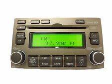 07 08 Hyundai Azera INFINITY SAT Radio Stereo 6 Disc Changer MP3 CD Player TAN