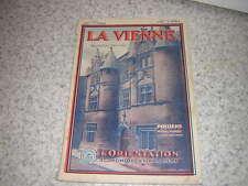 1931.la Vienne.N° spécial de L'Illustration économique.nbses ill.& pubs