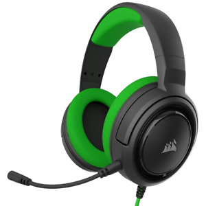 Cuffie Corsair Gaming HS35 Stereo XBOX PC MOBILE Headset Color Green