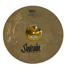 "Soultone Cymbals 16"" Custom Brilliant RA Crash Cymbal CBRRA-CRS16"