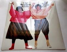 The Weather Girls Big Girls Don't Cry 1985 R&B Disco 33rpm LP Factory Sealed