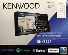 """NEW KENWOOD DNX874S In-Dash Navigation Receiver DVD/CD w/ 6.95"""" Touchscreen"""