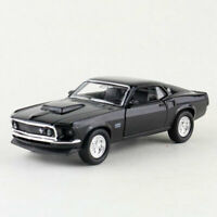 1969 Retro Ford Mustang Boss 429 1/36 Model Car Diecast Gift Toy Vehicle Kids
