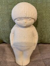 Stone Art Sculpture Child Figurine New in Gift Pouch