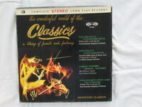 "Various ‎– Wonderful World Of The Classics, 3 LP box set, 33rpm 12"" records"