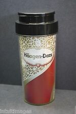 Haagen-Dazs Coffee 12oz.Tumbler w/ Sip Thru Lid and Spill Proof  Cover