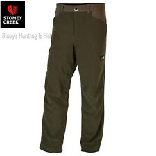 Stoney Creek Mens Microtough Detec Hunting Trousers Bayleaf 7752 XL