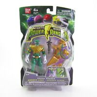 Mighty Morphin' Power Rangers Green w Light Up Dino Flyer 2009 New ROUGH CARD