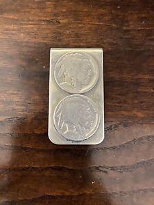 Vintage Buffalo Nickel Money Clip