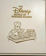 More details for the disney world of postage. various stamps and album