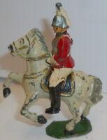 Vintage lead Mounted life gaurd britains j hill crescent etc *
