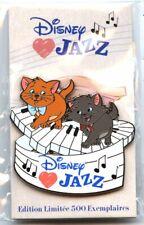Disneyland Paris - Disney Loves Jazz - Berlioz and Toulouse Pin