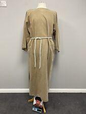 Brown Monk Uniform Rope Belt & Wig Religious Church Fancy Dress Ex Hire Costumes