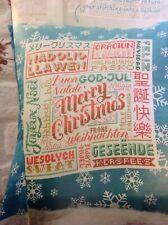 (X6) Emma Congdon Merry Xmas Welcome Sampler Christmas Cross Stitch Chart
