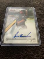 LUIS ESCOBAR PITTSBURGH PIRATES 2018 BOWMANS BEST AUTO RC ROOKIE