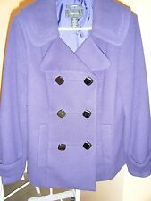 WOMENS STYLE COMPANY MEDIUM PURPLE WINTER JACKET 27 INCH LENGTH