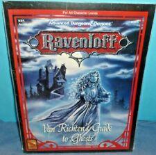 Ravenloft Van Richten's Guide to Ghosts - SEALED RR5 TSR AD&D 2nd Ed.