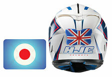 Motorcycle Oxford Helmet Protection Bumper Pillion Rider Bumper Target Blue Red