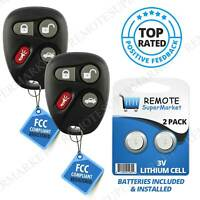 Replacement for Buick LeSabre Park Avenue Cadillac Remote Car Key Fob Pair