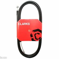 Clarks Universal Galvanised Bicycle Rear Brake Cable Black w/2P Outer Casing