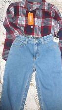 Lot Nwt Ralph Lauren jeans  Gymboree plaid shirt 7 8 boy free ship USA
