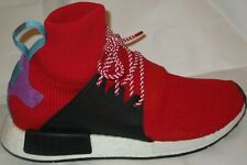 MEN'S ADIDAS NMD _XR1 WINTER BZ632 RED/BLACK SHOES SIZE 9