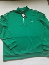 NWT Men's Size XL Adidas Pullover 1/4 Jacket MSRP $60.00