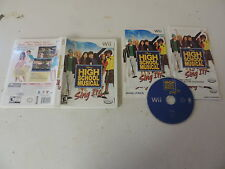 High School Musical: Sing it! (Nintendo Wii) complete, tested and working