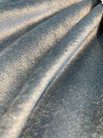 Light Blue Exclusive Velveteen Velvet Drapery Upholstery Fabric by the yard