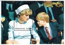 VINTAGE CLASSICS - Sierra Leone 2094 - Princess Diana Memorial - S/S - MNH
