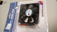 Startech 8cm PC Case Cooling Fan (3 Pin Speed Sensor Connector)