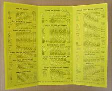 Postcard-7 Vintage Les Paul TV models + 54 GIBSON pricelist + tri-fold hangtag