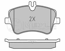 MEYLE 025 231 4419 BRAKE PAD SET DISC BRAKE Front