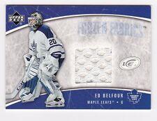 2005-06 NHL Upper Deck ICE Frozen Fabrics #FF-EB / Ed Belfour Jersey