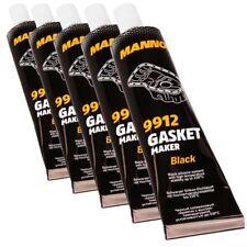 5x 85g MANNOL Silikondichtung Schwarz Ölwannendichtung Dichtmasse 9912