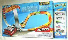 Hot Wheels Figure 8 Raceway Motorised Track Set & 6 Cars NEW! NRFB!